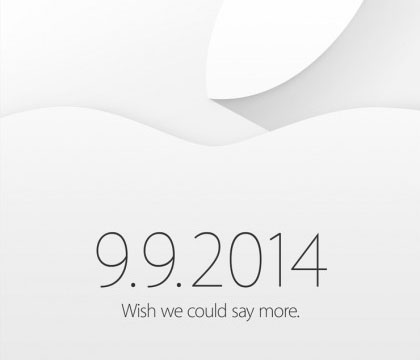 iOS 8 iPhone 6 iWatch event