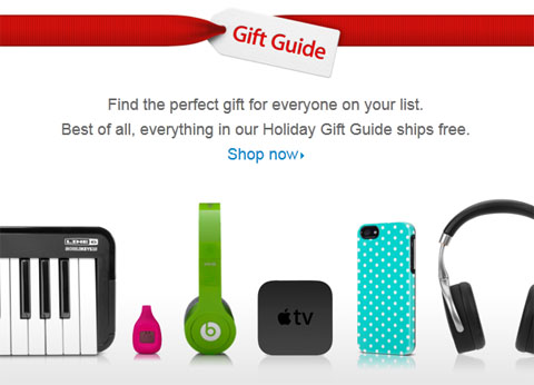 apple online store gift guide