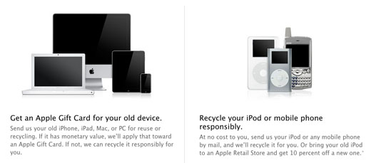 Apple Earth Day 2014 Recycling
