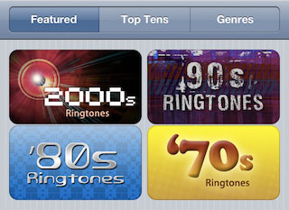 apple iphone ringtones store