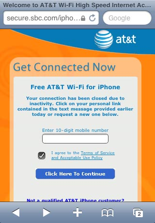 How do I connect to free AT&T iPhone Wi-Fi? | The iPhone FAQ