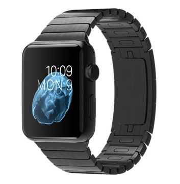 Apple Watch 42mm Space Black model.