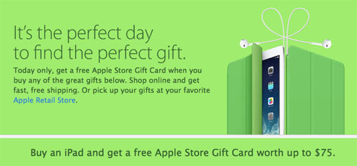 Apple Black Friday gift cards