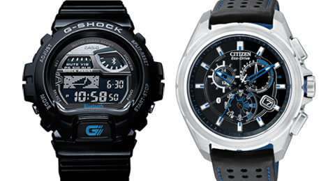 Casio Citizen Bluetooth 4 iPhone watch