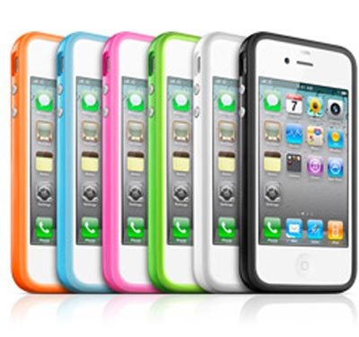 apple iphone 4 bumper case