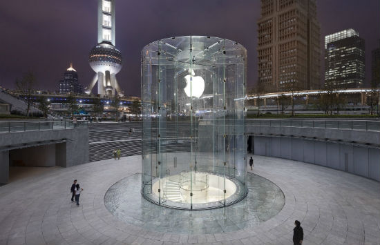 More Apple stores to open in China.