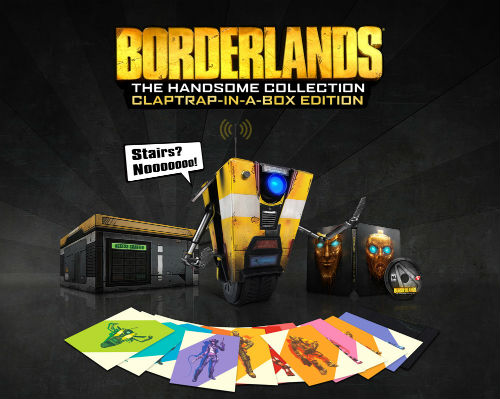 "Borderlands: The Handsome Collection Claptrap-in-a-Box Edition""  title="