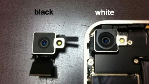 white iphone vs black iphone. white iPhone 4 teardown