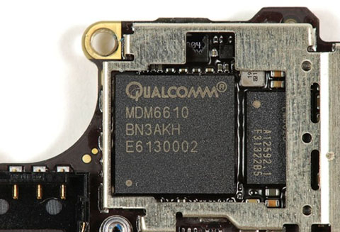 LTE iPhone 5 component review