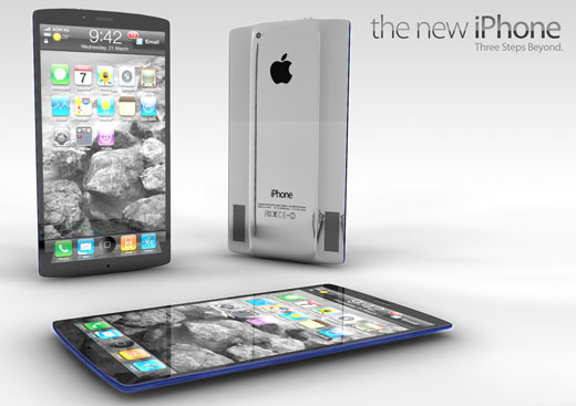 iPhone 5 rendering concept ADR