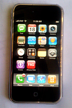 iphone ipod touch custom webclip icons