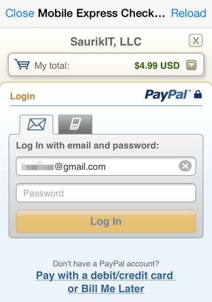 cydia payment methods