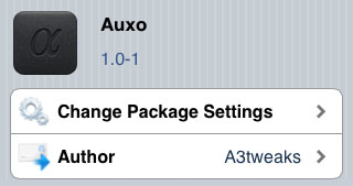 Auxo tweak multitasking iOS