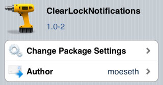 ClearLockNotifications iPhone tweak