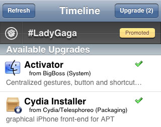 Cydia QuickBar April Fools Update