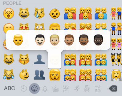 iOS 8.3 Emoji Keyboard