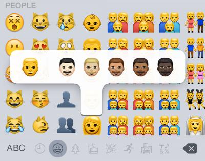How Do I Change The Skin Tone Of An Emoji On My Iphone The Iphone Faq