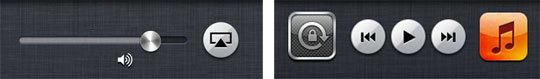 apple iphone airplay dock control iOS 5