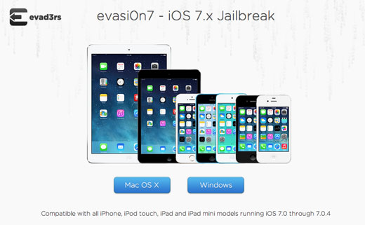 evasi0n7 iphone 5s jailbreak