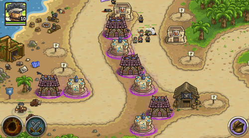 Kingdom Rush Frontiers Hawkeye Achievement