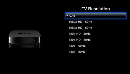 "iOS Apple TV screen resolution""  title="