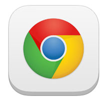 Chrome for mobile icon