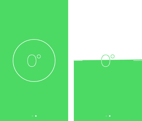 iOS 7 spirit level