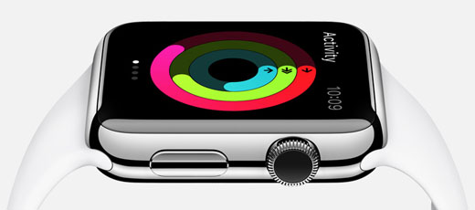 "Apple Watch activity tracker""  title="