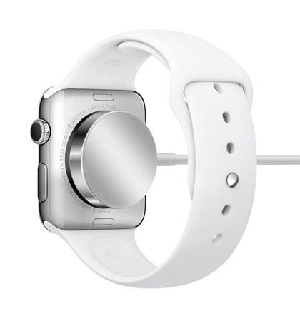 "Apple Watch MagSafe inductive charger""  title="