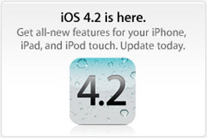 apple iphone firmware ios 4.2 release