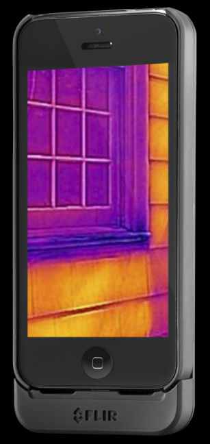 FLIR ONE  thermal vision iPhone 5 case