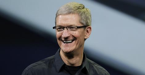 Tim Cook named Financial Times Person of the Year