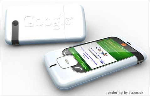 a new theoretical prototype of the google phone