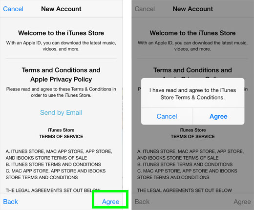 Apple app store terms and conditions : What is artificial