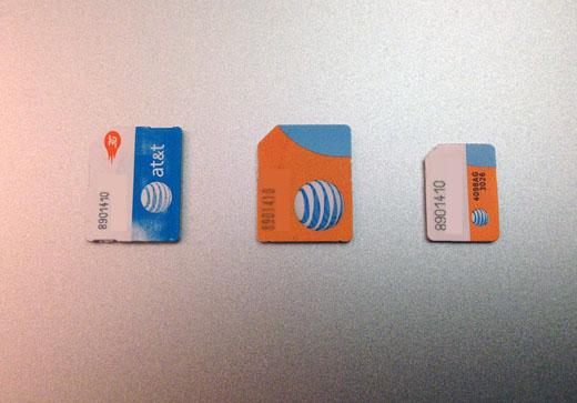 iphone 4 simkort