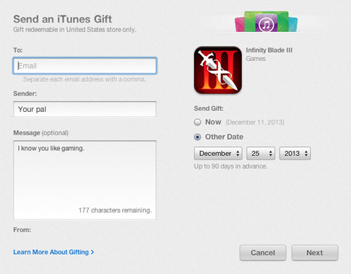 gift apps from itunes app store6