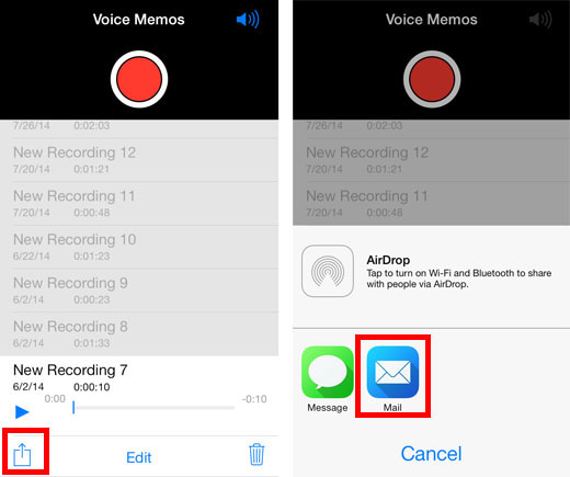 iOS voice memo to ringtone 1
