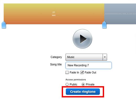 online ringtone maker using youtube