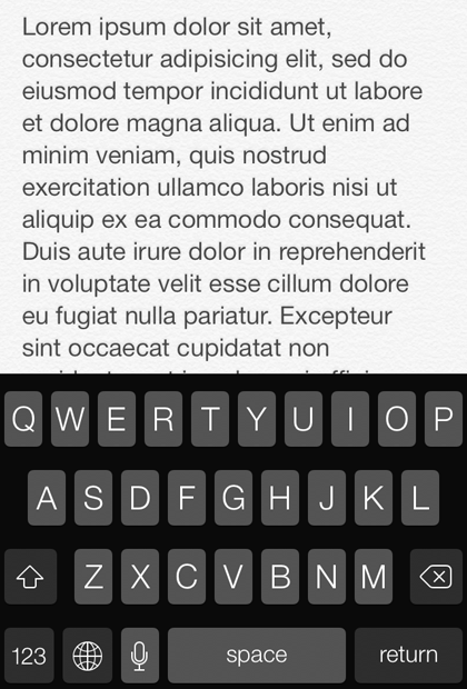 What system font / typeface does iOS 7 use? | The iPhone FAQ