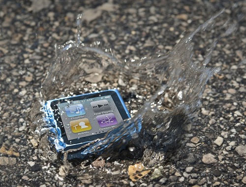 HzO waterproof iPod nano
