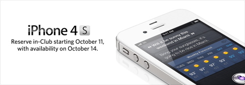 iPhone 4S Pre-Order