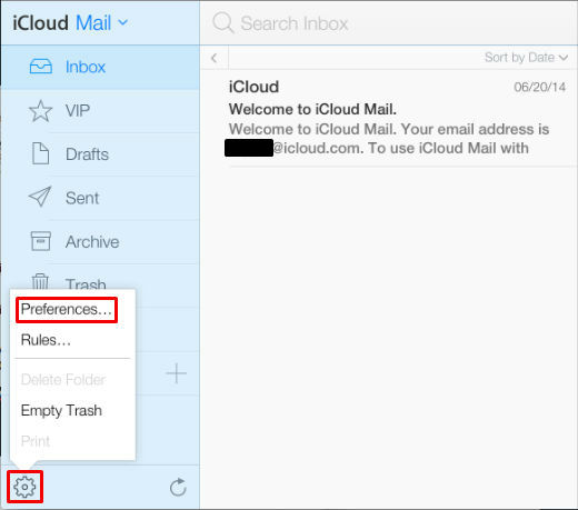 How to create an iCloud email alias.