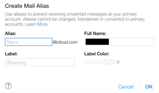 what is alias email