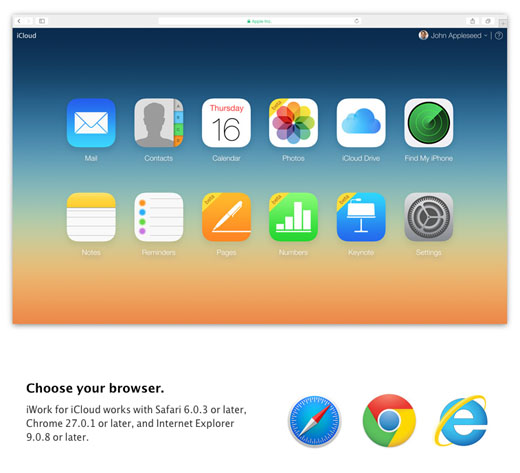 Anyone Can Use Pages, Numbers, and Keynote for iCloud | The