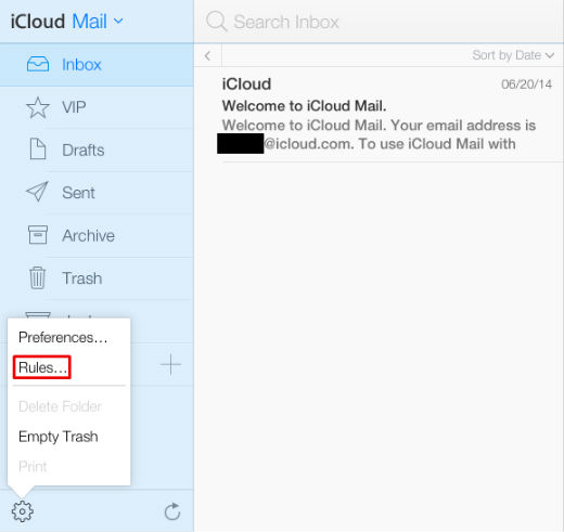how to set up another icloud account