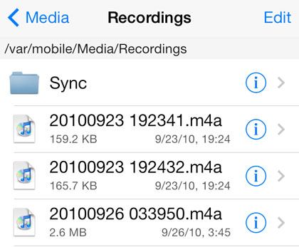 Where are voice memos saved on the iPhone? | The iPhone FAQ
