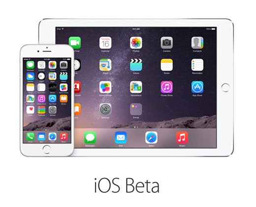 "Apple iOS public beta 8.3""  title="