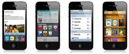 apple iphone OS 4 iOS