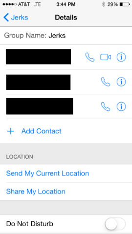 How do I change the name of a group text / discussion in iOS 8 ...
