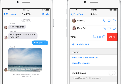 How to stop groupme text messages on iphone